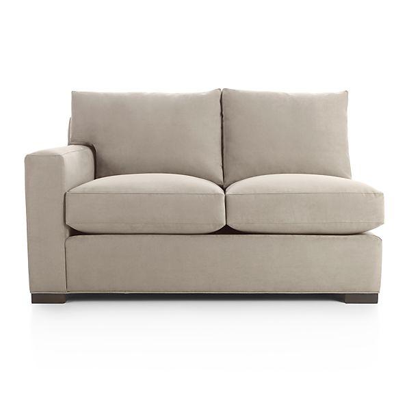 Axis Ii Left Arm Full Sleeper Sofa Nickel Crate And Barrel