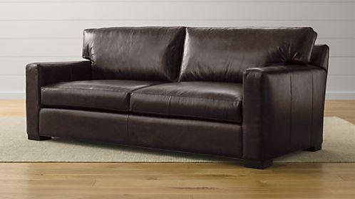 Axis II Leather 2-Seat Sofa