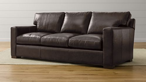 Axis II Leather 3-Seat Sofa