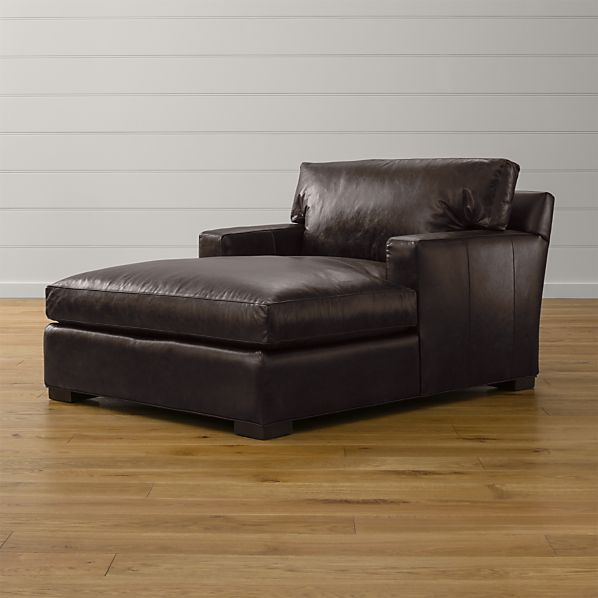 Axis II Leather Chaise