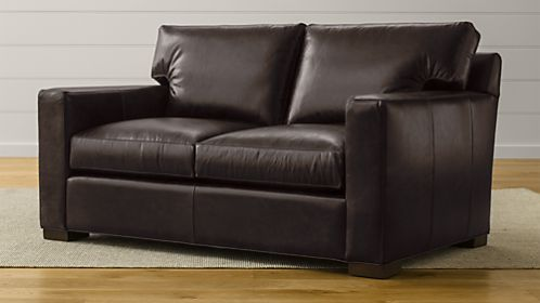 Axis II Leather Loveseat