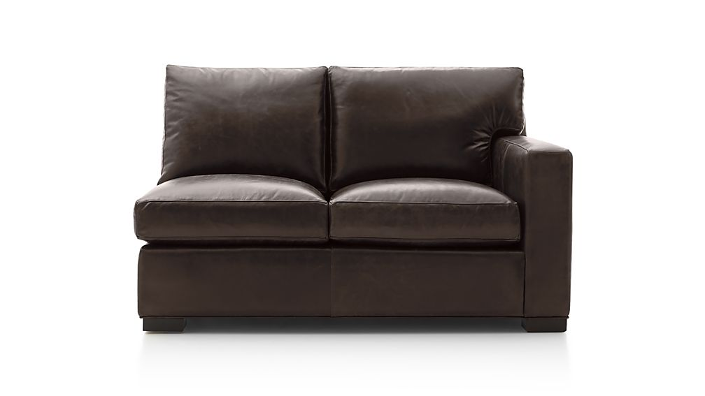 Axis II Leather Right Arm Loveseat