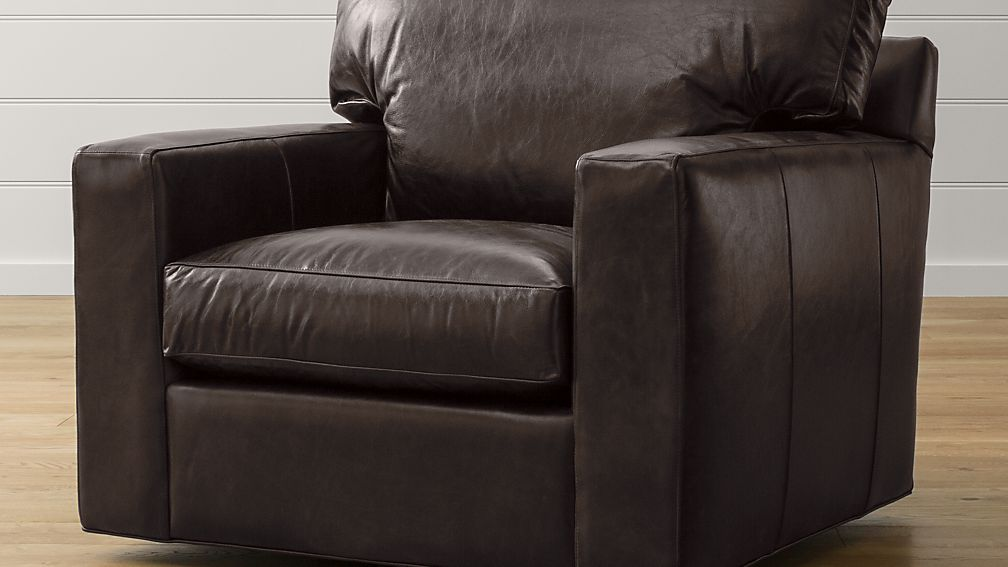 Axis II Leather Swivel Chair
