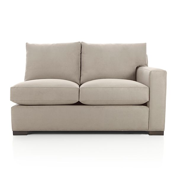 Axis II Right Arm Sectional Full Sleeper Sofa