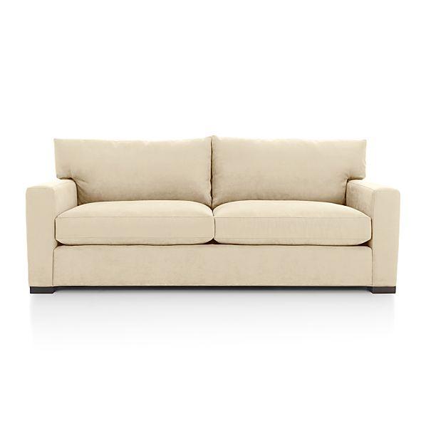 axis ii 2 seat queen sleeper sofa basil crate and barrel