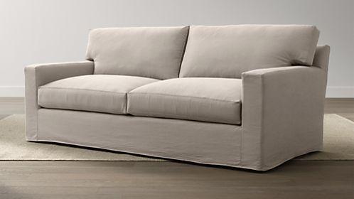 Axis II Slipcovered 2-Seat Sofa