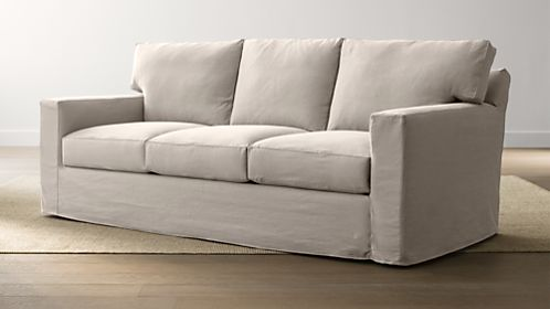 Axis II Slipcovered 3-Seat Sofa