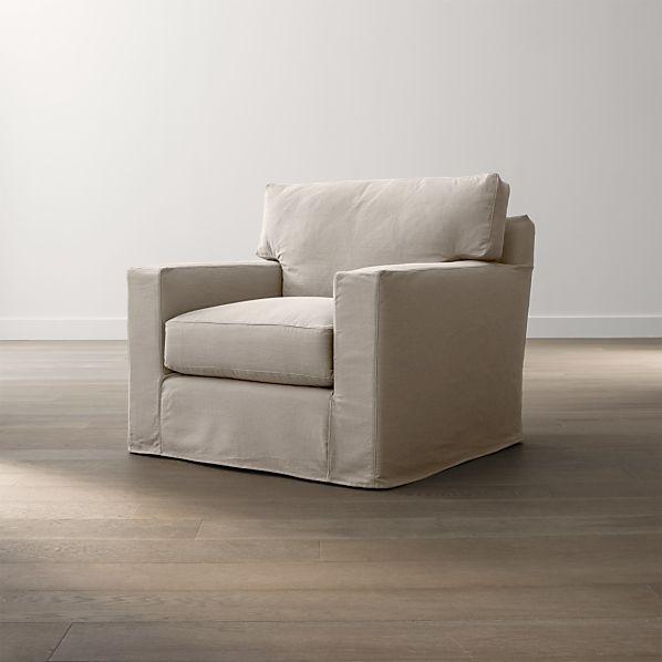 "Axis II Slipcovered 40"" Chair"
