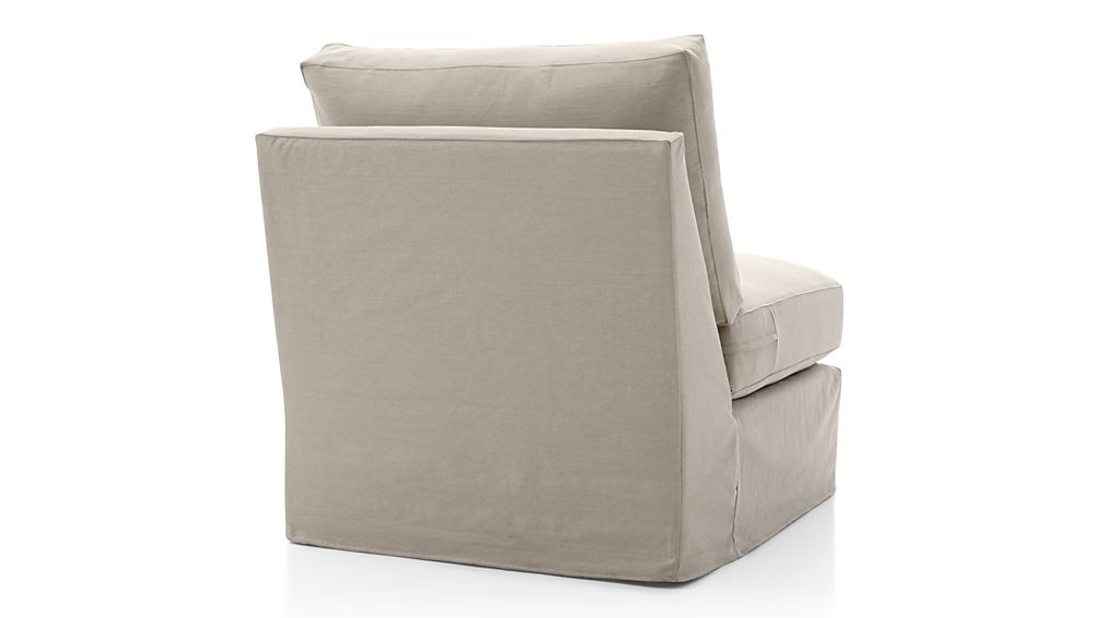 Axis II Slipcovered Armless Chair