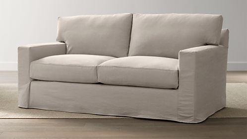 Axis II Slipcovered Apartment Sofa