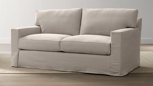 Axis II Slipcovered Apartment Sofa