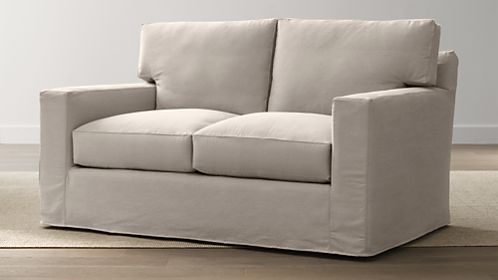 Axis II Slipcovered Loveseat