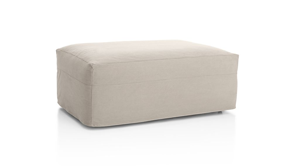 Slipcover Only for Axis II Ottoman and a Half
