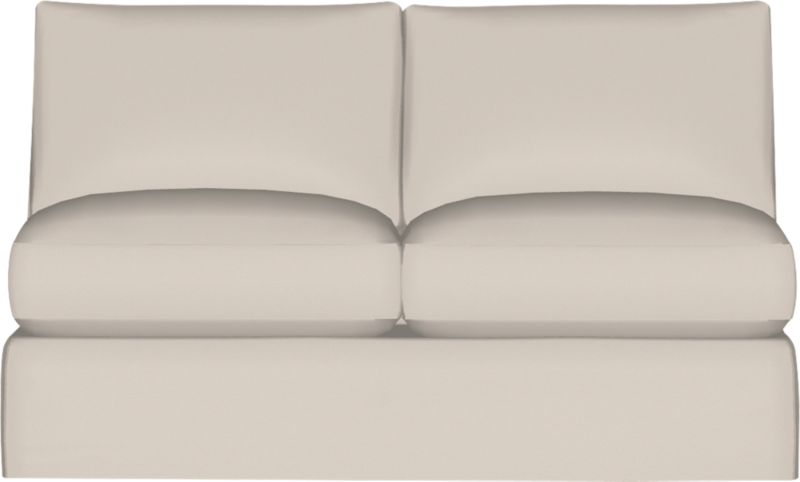 "Our most popular seating solution updates in a slightly slimmer profile with more room to stretch out and more options to dress with your own mix of throw pillows. Its simple lines anchor any room—whether classic, modern or a more eclectic mix—and it's a tremendous value for the quality of construction. Snug-fitting slipcovers hug Axis's plush contours, tailor-made with a sleek floor-length skirt and crisp topstitching. It's a tremendous value for the quality of construction: benchmade frame is kiln-dried hardwood, and soft down-blend seat cushions have an indulgent wrap in downproof ticking to give it that extra ""ahh"" factor when you sit down. Axis sofa group also available.<br /><br />After you place your order, we will send a fabric swatch via next day air for your final approval. We will contact you to verify both your receipt and approval of the fabric swatch before finalizing your order.<br /><br /><NEWTAG/><ul><li>Eco-friendly construction</li><li>Certified sustainable kiln-dried hardwood frame</li><li>Flexolator spring suspension</li><li>Seat cushions are multilayer soy- or plant-based polyfoam wrapped in fiber-down blend and encased in downproof ticking</li><li>Back cushions are fiber-down blend in downproof ticking</li><li>100% cotton muslin base fabric</li><li>Removable slipcovers are machine washable</li><li> Bi-fold 5½"" innerspring mattress; locking headrest</li><li>Plastic legs</li><li>Benchmade</li><li>Made in North Carolina, USA</li></ul>"