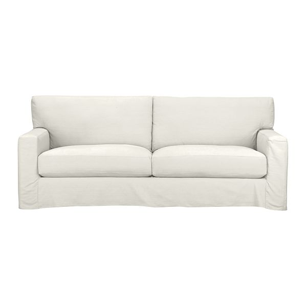 Axis II Slipcovered Queen  2-Seat Sleeper Sofa with Air Mattress