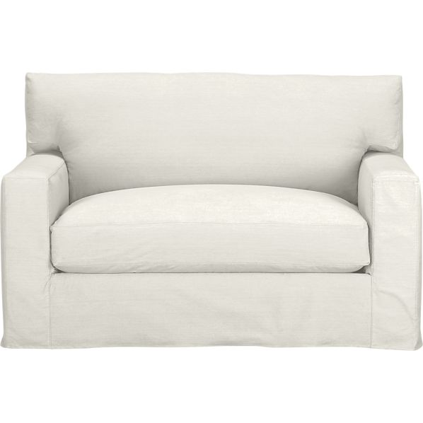 Axis II Slipcovered Twin Sleeper Sofa