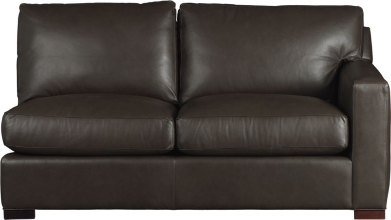 "The clean lines of our best-selling Axis relax—or sleep—with casual sophistication in rich full-grain leather. Its natural markings and vintage nature add rich character. Wide track arm and plump back cushions frame deep seat cushions. Block feet are stained a warm hickory. Sleeper mechanism features an anti-tip safety feature, low-profile support system and tilt-up headrest. Innerspring mattress with has a quilted top pad.<br /><br />After you place your order, we will send a leather swatch via next day air for your final approval. We will contact you to verify both your receipt and approval of the leather swatch before finalizing your order.<br /><br /><NEWTAG/><ul><li>Eco-friendly construction</li><li>Certified sustainable, kiln-dried hardwood frame</li><li>Seat cushions are multilayer soy- or plant-based polyfoam wrapped in fiber-down blend and encased in downproof ticking</li><li>Back cushions are fiber-down encased in downproof ticking</li><li>5.5"" innerspring mattress with quilted top pad</li><li>Synthetic webbing suspension</li><li>Upholstered in full grain, aniline-dyed leather with topstitching</li><li>Hickory-stained hardwood legs</li><li>Benchmade</li><li>See additional frame options below</li><li>Made in North Carolina, USA</li></ul>"