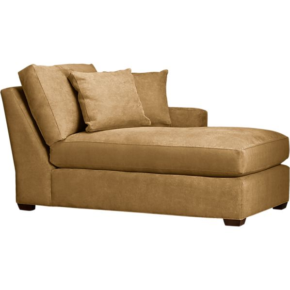 Axis Right Arm Sectional Chaise in Outlet Furniture | Crate and Barrel
