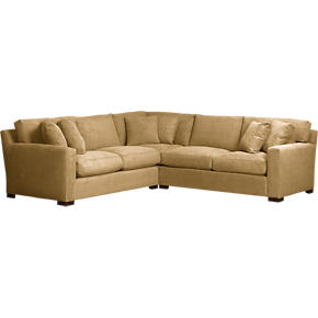 Axis 3-Piece Corner Sectional Sofa