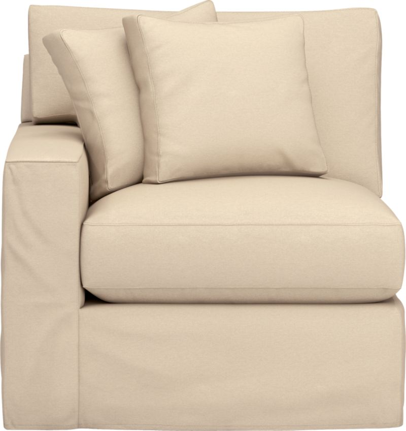 "Snug-fitting slipcovers hug Axis's deep and roomy contours, tailor-made with sleek floor-length skirt and crisp topstitching.<br /><br />Additional <a href=""http://crateandbarrel.custhelp.com/cgi-bin/crateandbarrel.cfg/php/enduser/crate_answer.php?popup=-1&p_faqid=125&p_sid=DMUxFvPi"">slipcovers</a> available through stores featuring our Furniture Collection.<br /><br />After you place your order, we will send a fabric swatch via next day air for your final approval. We will contact you to verify both your receipt and approval of the fabric swatch before finalizing your order.<br /><br /><NEWTAG/><ul><li>Machine washable</li><li>Topstitching detail</li><li>See additional"