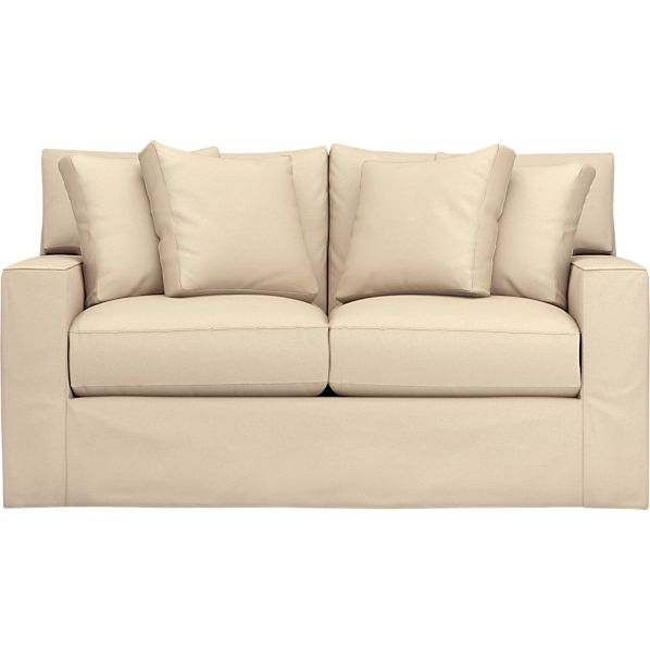 Axis Slipcovered Loveseat