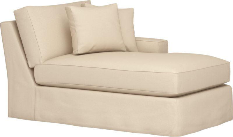 "Snug-fitting slipcovers hug Axis's deep and roomy contours, tailor-made with sleek floor-length skirt and crisp topstitching.<br /><br />Additional <a href=""http://crateandbarrel.custhelp.com/cgi-bin/crateandbarrel.cfg/php/enduser/crate_answer.php?popup=-1&p_faqid=125&p_sid=DMUxFvPi"">slipcovers</a> available through stores featuring our Furniture Collection.<br /><br />After you place your order, we will send a fabric swatch via next day air for your final approval. We will contact you to verify both your receipt and approval of the fabric swatch before finalizing your order.<br /><br /><NEWTAG/><ul><li>Machine washable</li><li>Topstitching detail</li><li>See additiona"