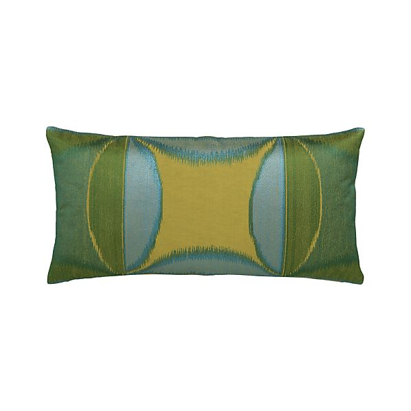 "Ayda 24""x12"" Pillow with Down-Alternative Insert"