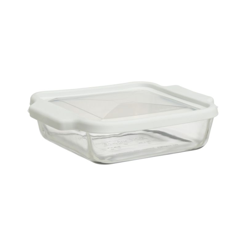 Glass Bake and Store Square Casserole