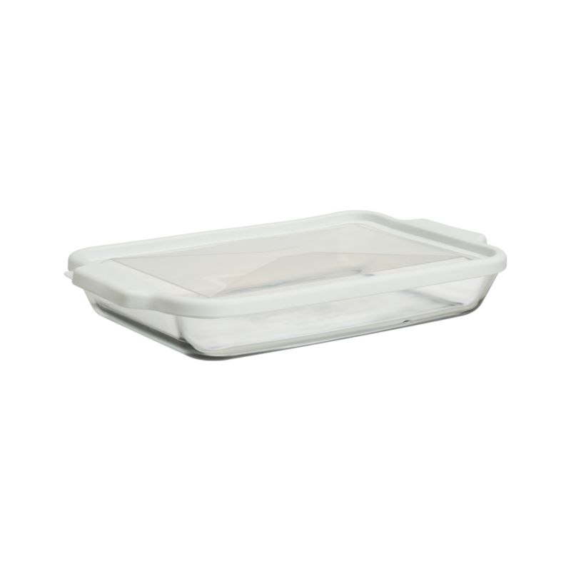 Glass and Store Rectangular Casserole Dish