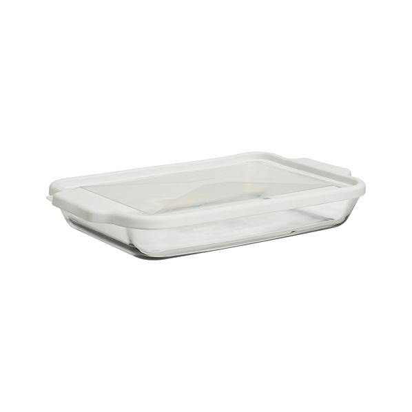 Glass and Store Rectangular Casserole