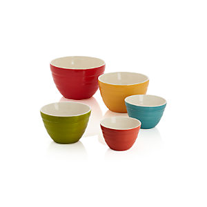 Baker Nesting Bowls Set of Five