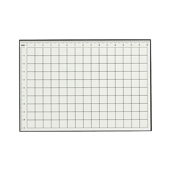 Silicone Baking Mat with Grid Pattern