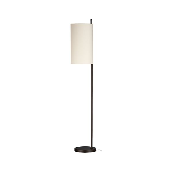 Balance Bronze Floor Lamp in Floor Lamps, Torchieres | Crate and ...