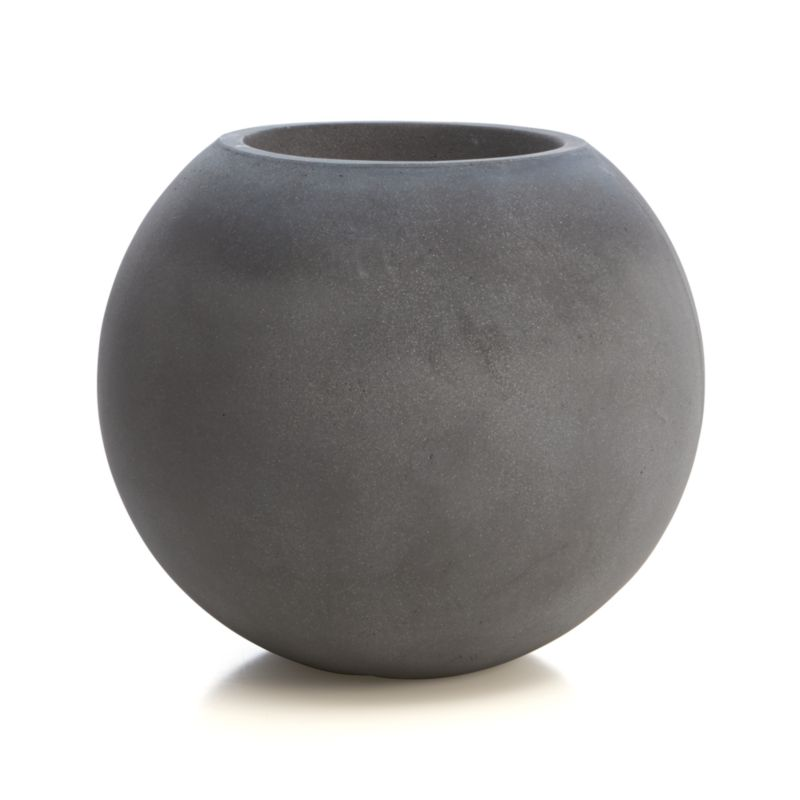 Large Ball Planter | Crate and Barrel