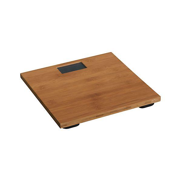Bamboo Digital Bath Scale