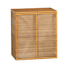 Bamboo Hamper with Liner.