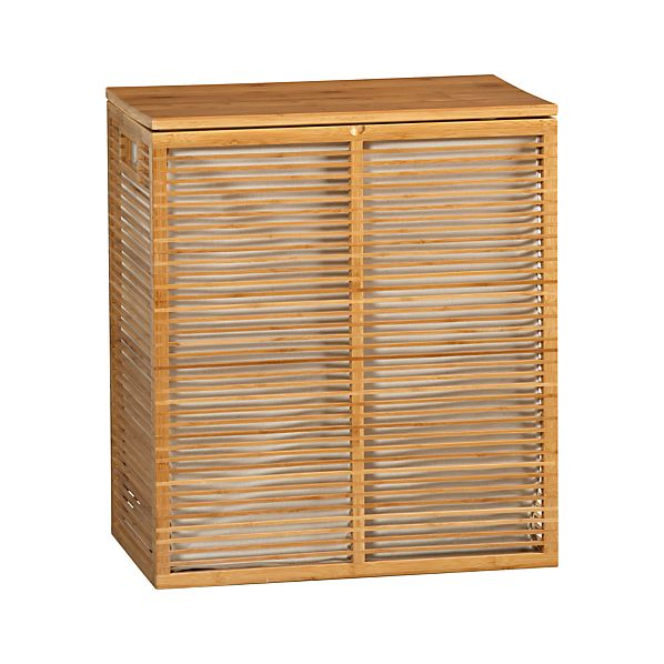 Bamboo Hamper with Liner