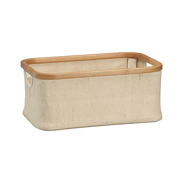 Small Bamboo-Jute Basket
