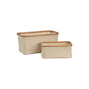 Bamboo-Jute Baskets