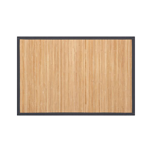 Bamboo Slate 2'x3' Rug