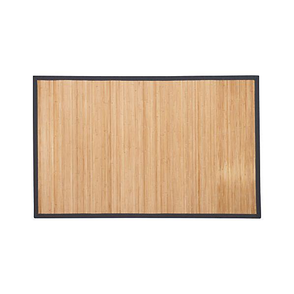 Bamboo Slate 5'x8' Rug