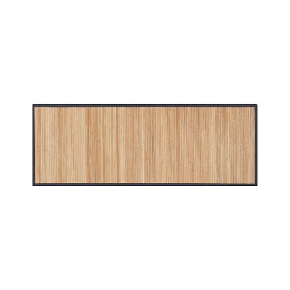 Bamboo Slate 2.5'x7' Runner