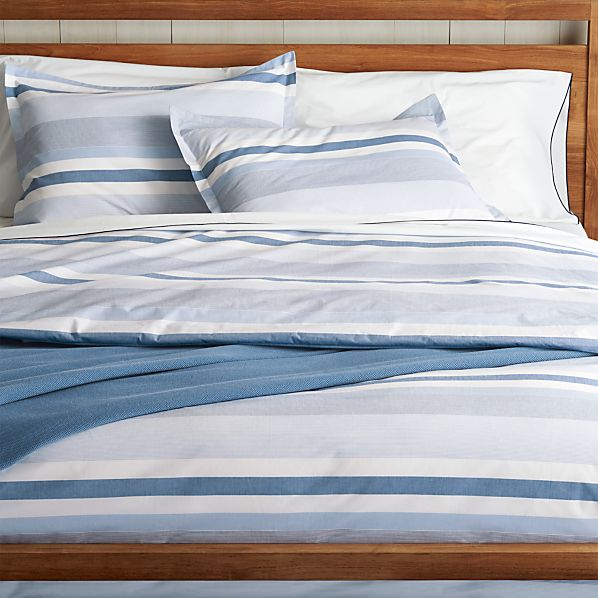 Bar Harbor Duvet Covers And Pillow Shams Crate And Barrel