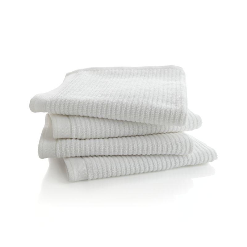 Set Of 4 Bar Mop Dish Towels Crate And Barrel