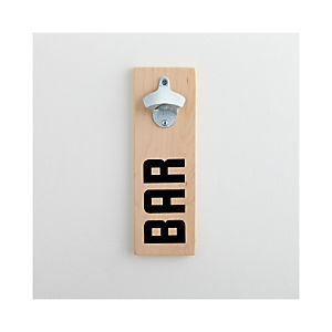 Bar Wall Mount Bottle Opener
