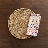Barcelona Placemat and Octavio Natural Napkin
