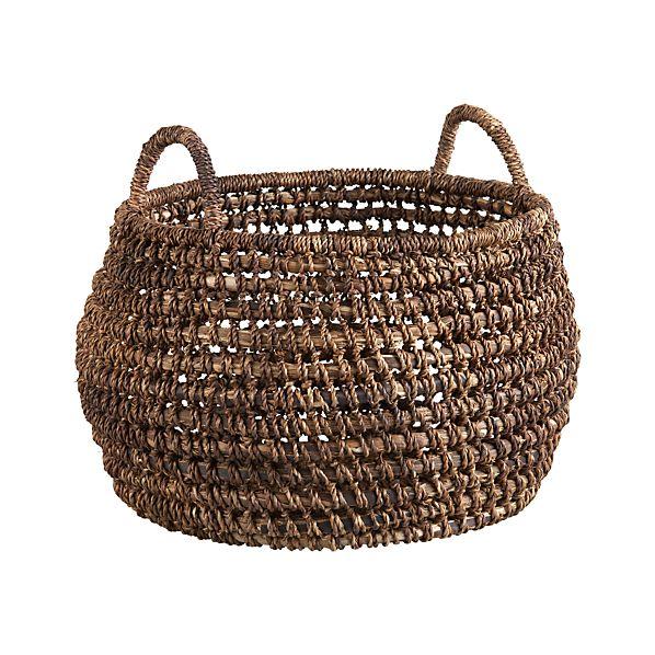 Barika Round Basket