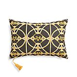 "Baron 20""x 13"" Pillow with Feather-Down Insert"