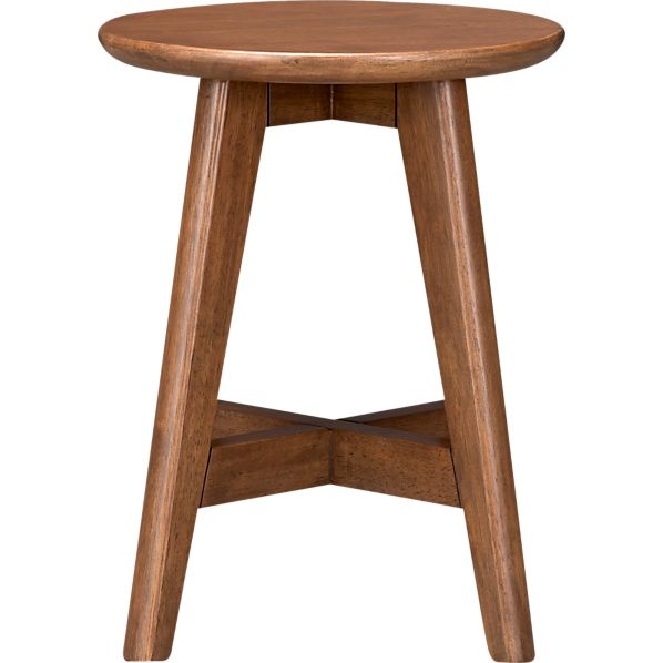 "Walnut 18"" Barstool"