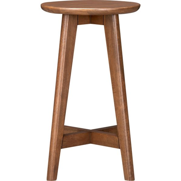 "Walnut 24"" Barstool"